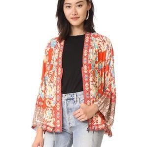 Free People Wildflower cardigan cinched Kimono